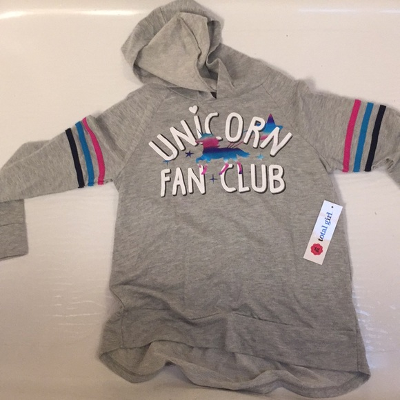 bc8fd4de3eb9 New girl size M 10 12 from JC Penney hooded top.